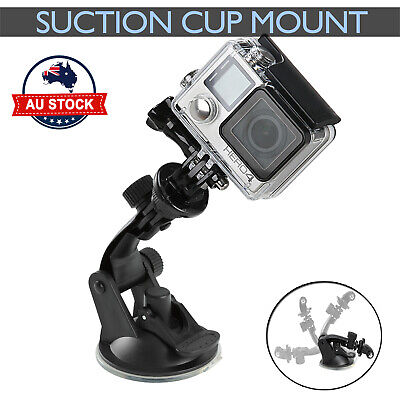 AU10.39 • Buy  Car Suction Cup Gopro Accessories Windshield Mount Window Holder GoPro 3+ 4 5