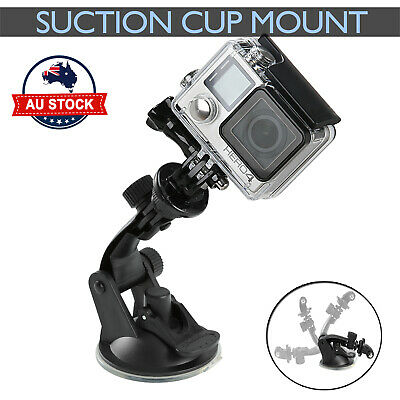 AU9.99 • Buy Car Suction Cup Gopro Accessories Windshield Mount Window Holder GoPro 9 8 7 6 5