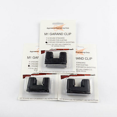 $8.99 • Buy 3 X Garand 2 Round Clips National Match For M1 New US 2rd Clip Parts 2 Rd