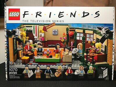 $84.95 • Buy Lego Friends Central Perk Cafe Ideas Set 21319 Brand New