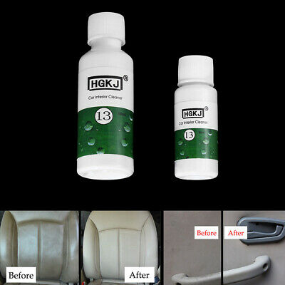 $ CDN2.35 • Buy 20ml Car Leather Seat Polish Care Wax Dashboard Cleaner Cleaning Kit Accessories