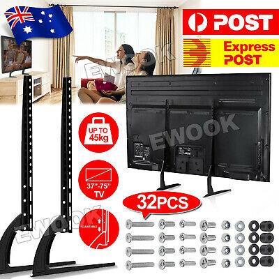 AU30.85 • Buy Universal TV Riser Stand Mount For Samsung Sony Sharp 32-70  LCD LED Sony TCL TV