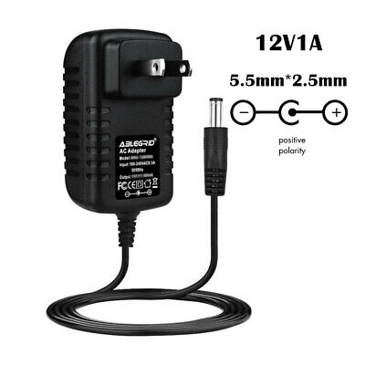 AC 100-240V To DC12V 1A 1000mA Switching Power Supply Converter Adapter US Plug • 4.98$
