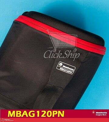 £104.25 • Buy Manfrotto MBAG120PN Padded Tripod Bag With Head Up To 45  (120 Cm) Long