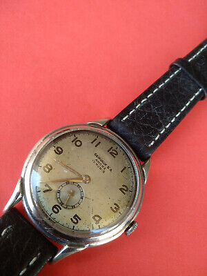 $ CDN112.98 • Buy Vintage Gervaux S.A. Ancre 15 Rubis 1950s Hand Winding Wristwatch