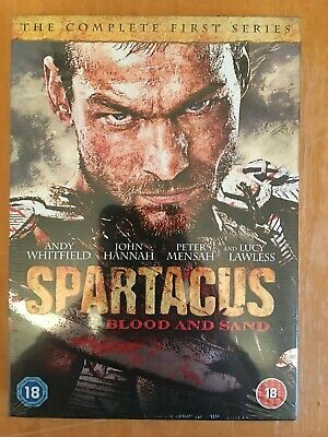 £3.39 • Buy Spartacus: Blood And Sand: Series 1 DVD (2011) Andy Whitfield *New & Sealed*