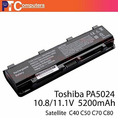 AU38.50 • Buy Laptop Battery For TOSHIBA Satellite PA5024U-1BRS PABAS260 C850 L800 AU Reduced