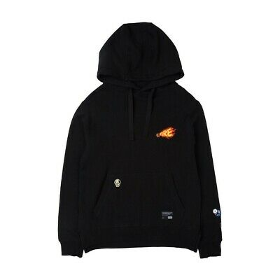 $55 • Buy BT21 Shooky Patch Point Hoodie Black BTS (Small)