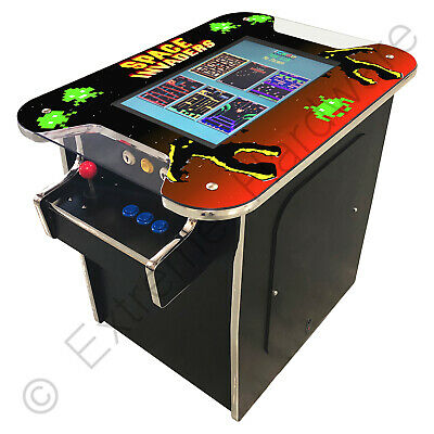 £749 • Buy BitCade 2 Player 22  Classic 60 In 1 Cocktail Table With Space Invaders Artwork