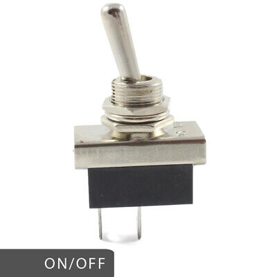 £7.50 • Buy Heavy Duty On / Off Metal Toggle Lever Switch 25 AMP Rated 12v 24v