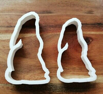 £3.89 • Buy Hare Rabbit Moon Cookie Cutter Biscuit Dough Pastry Fondant Stencil Animal AL867