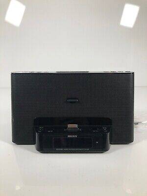AU32.78 • Buy Sony IPhone / IPod Clock Radio Speaker Dock ICF-CS15iP Dream Machine Sleep Alarm