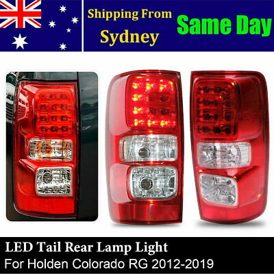 AU168.99 • Buy New Pair LED Tail Rear Lamp Light For Holden Colorado RG 2012-2019 LTZ LS Z71 LT