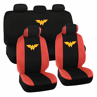 $37.50 • Buy Wonder Woman Seat Covers For Car Full Set - Original Seat Cover Auto Accessory