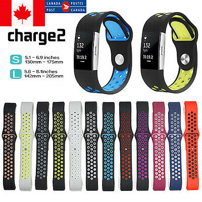 $ CDN11.99 • Buy Sports Watch Band Strap For Fitbit Charge 2 Silicone Bracelet Smart Wristbands