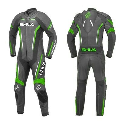 $260.81 • Buy Motorcycle Racing Suits Motorbike Shua Infinity Premium 1 Pc Pure Leather Suits