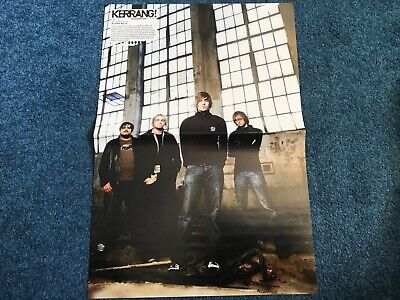 £2.99 • Buy Fightstar/Chino Moreno Double Sided Centerfold Poster - Kerrang! Deftones