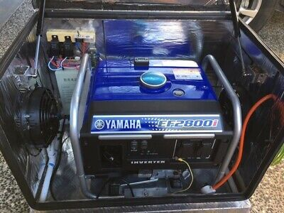 AU2200 • Buy Yamaha 2.8kva Petrol Inverter Generator & Tool Box - Perfect Condition