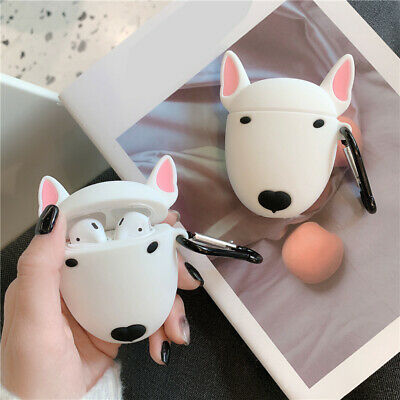 AU11.40 • Buy Funny Animal Bull Terrier Airpods Silicone Case Cover For Apple Airpods Earphone