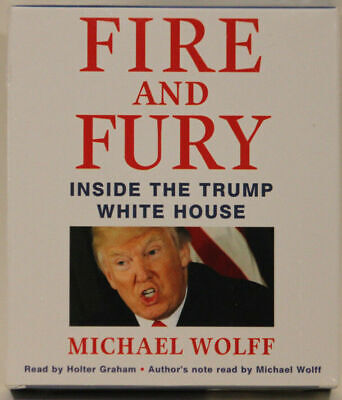 AU19.22 • Buy Fire And Fury Inside The Trump White House By Michael Wolff Audiobook Unabridged