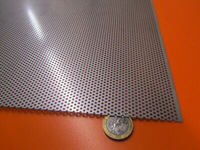 £127.34 • Buy Perforated 304 Stainless Steel Sheet .024  Thick X 24  X 24 , .062  Hole Dia.