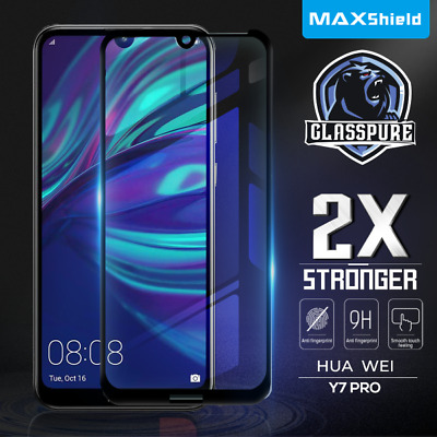 AU11.99 • Buy Huawei Y5 Y7 Pro 2019 Y9 Prime 2019 Full Coverag Tempered Glass Screen Protector