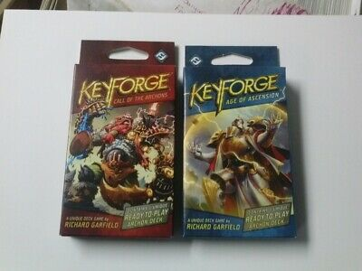 $ CDN20.03 • Buy KEYFORGE Age Of Ascension & Call Of The Archons Display Deck Sealed!