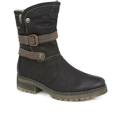 Relife By Pavers Womens Mid-Calf Boots Shock Absorbing Cushioned Casual Shoes • 66.99£