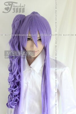 $28.03 • Buy VOCALOID Miku Gakupo COSPLAY Wig+Long Clip On Ponytail