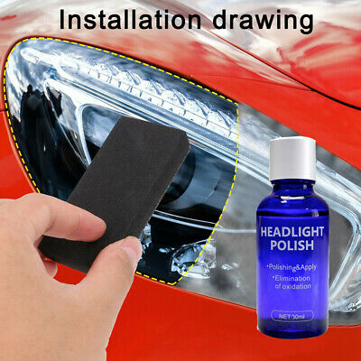 $ CDN5.05 • Buy 9H Hardness Auto Headlight Len Restorer Repair Liquid Polish Cleaning Tool X1