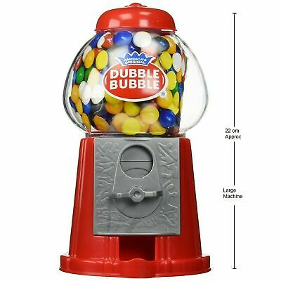 Gumball Machine Bubble Gum Sweet Dispenser Mini Retro Candy Vending Vintage Toy • 12.99£