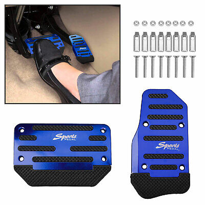 $10.17 • Buy Universal Metal Car Interior Foot Rest Pedals Pad Cover Car Accessories Durable