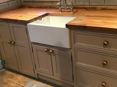 Handmade Freestanding Belfast Sink Appliance Unit Painted In Your Colour Choice. • 1,732£