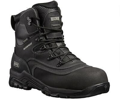 $125.78 • Buy MAGNUM Broadside 8.0 S3 Black Waterproof Non-metal Safety Boot With Midsole