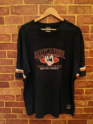 $ CDN49.99 • Buy Vintage Year 2000 Harley Davidson Taz Shirt Size XL Looney Toons And Warner Bros