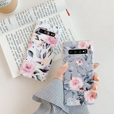 $ CDN5.17 • Buy Shockproof Flower Slim Phone Case Cover For Samsung Galaxy S10 Plus A70 A50 S9