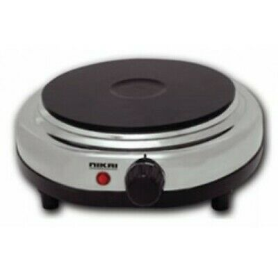 £17.99 • Buy Portable 1500w Electric Hot Plate Cooking Hob ¦ Cooker Hotplate Stove Stainless