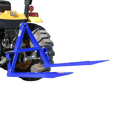 AU349 • Buy Tractor Rear Pallet Forks 1000kg Capacity, 3 Point Linkage