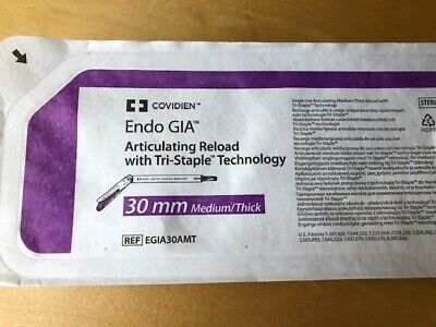 $149 • Buy Covidien Endo Gia Articulating Reload With Tri-Staple Tech REF: EGIA30AMT