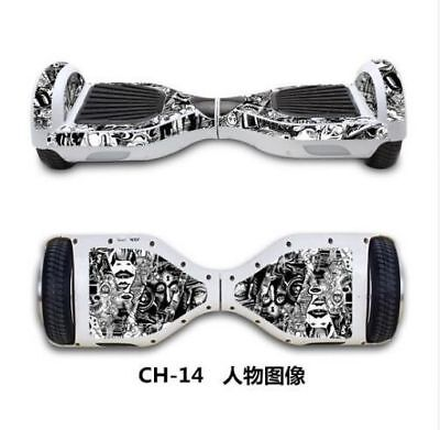 $ CDN42.30 • Buy 2019 6.5 Inch Electric Scooter Sticker Gyroscooter Hoverboard Skateboard Sticker