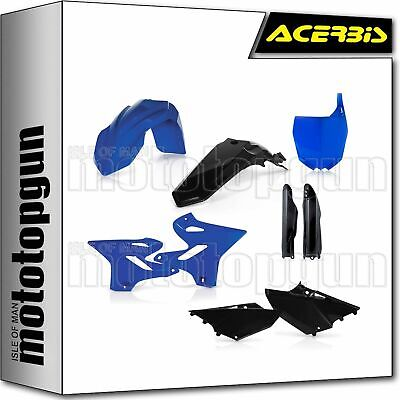 AU216 • Buy Acerbis 0017875 Full Plastics Kit Black Blue Yamaha Yz 125 2015 15 2016 16