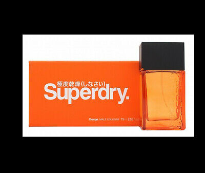 Superdry Orange Cologne 75ml Spray - Men's For Him. New. Free Shipping • 24.99£