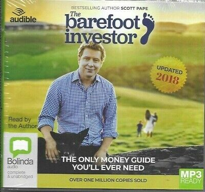 AU22.25 • Buy The Barefoot Investor Updated 2018 Mp3 Ready Audiobook Cd New