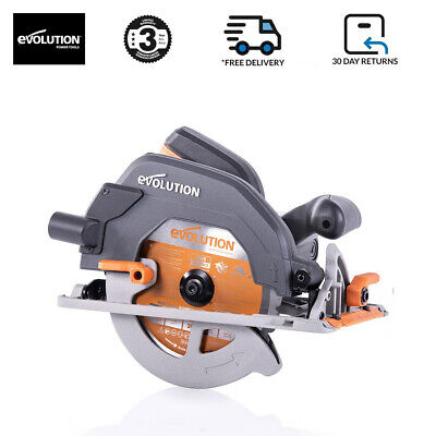 Evolution R185CCS Circular Saw, 185 Mm, With Multi-Material Carbide Tipped Blade • 75£