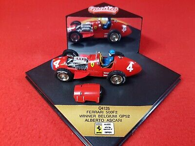 QUARTZO 1:43 Scale Model - Ferrari 500F2 : A. Ascari - 1952 Belgium GP Winner • 18.99£
