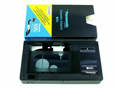 AU69.95 • Buy VHS To VHS-C VHSC VHS C Tape Converter Adaptor Play Compact Cassette VCR Player