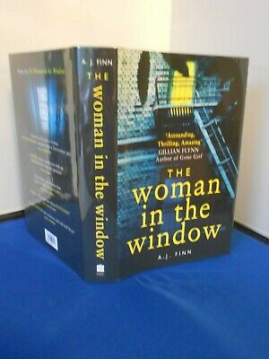 AU124.40 • Buy A J Finn: The Woman In The Window:  Signed First Edition First Print: New