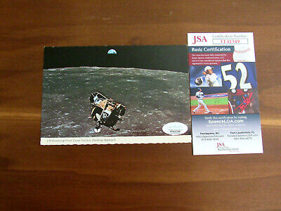 $399.99 • Buy Neil Armstrong Stephen Koenig Apollo 11 Docking Approach Pcard Signed Auto Jsa