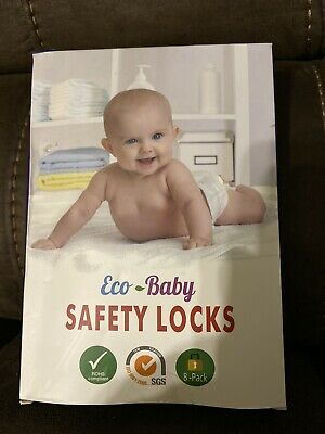 £5 • Buy Eco-Baby Child Safety Lock Cabinet,Drawers, Oven, Toilet Seat, Fridge And More