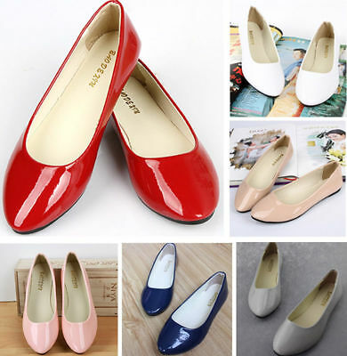 $9.99 • Buy Ladies Shoes Ballet Flats Women Flat Shoes Large Size Casual Shoe Womens Loafers